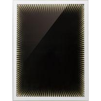 MARA Wandleuchte Spiegel, mit Lichteffekt, IP44, BxH:400x600, AL:67, inkl. 1xLED 6,5W 12V, 61lm, 640