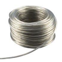 Kabel, 3 x 0,75qmm, PVC Ummantelung transparent, 1 Rolle = 50m